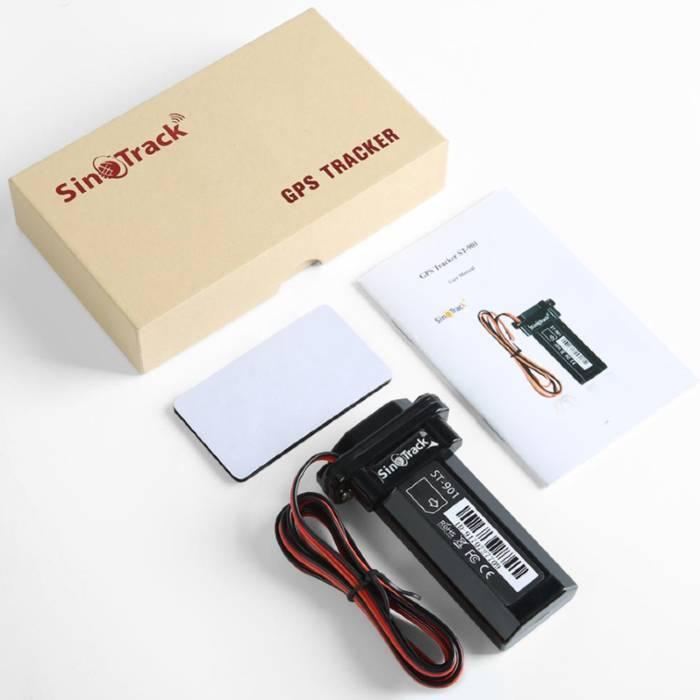 SinoTrack vehículos ST-901 producto caja