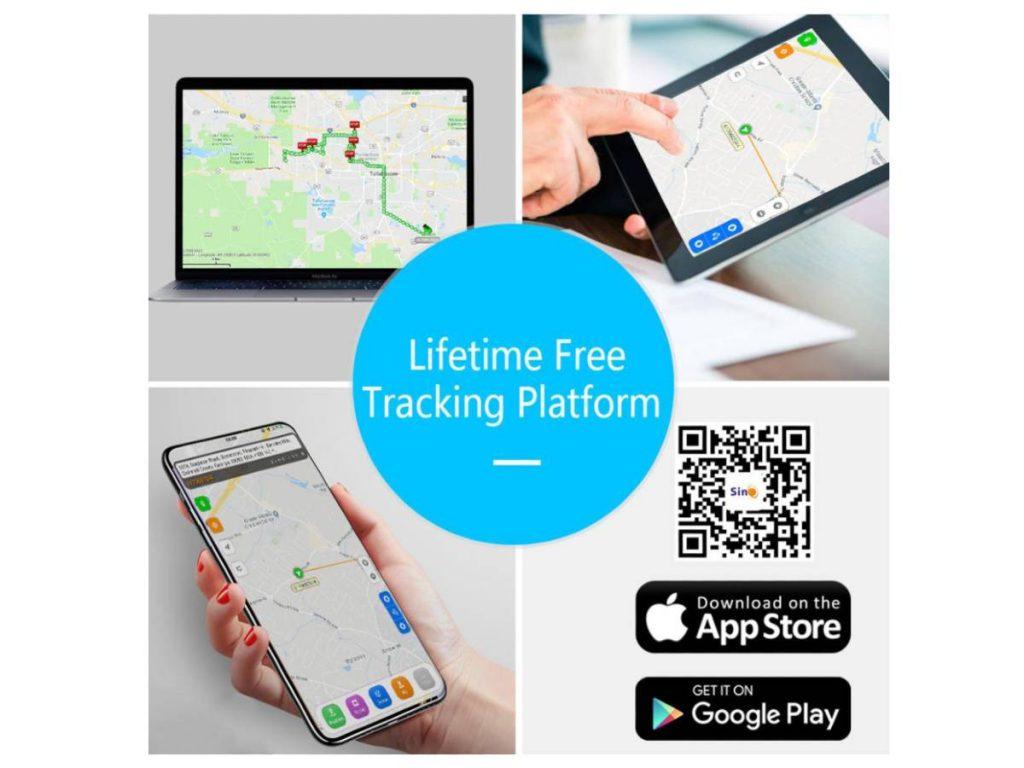 App plataforma de seguimiento SinoTrack