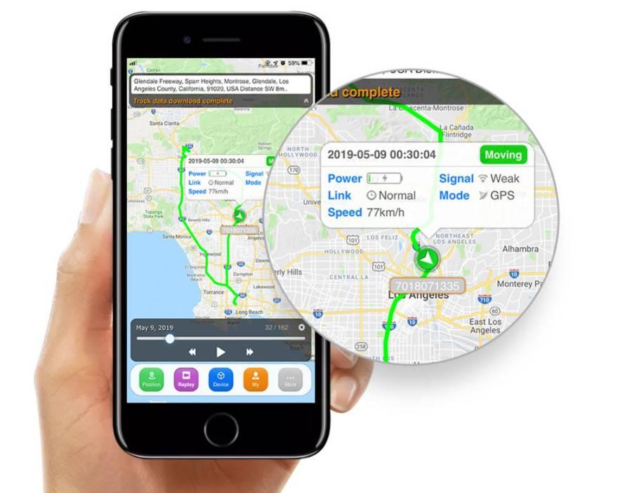 plataforma de seguimiento Sinotrack App movil