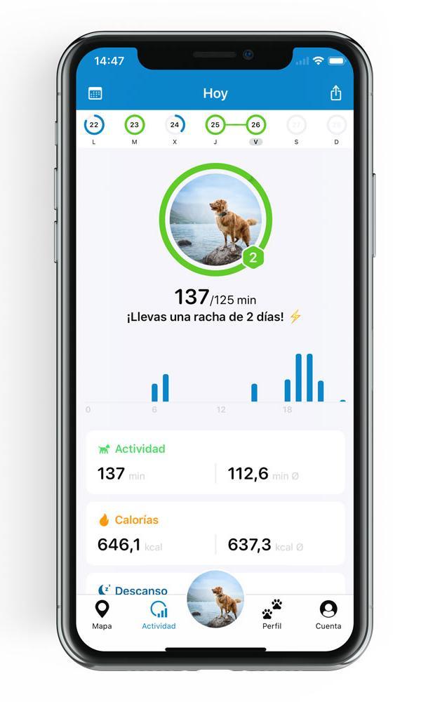Tractive App Seguimiento de Actividad