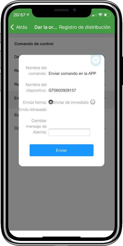Comandos enviar App DAGPS a localizador GPS GT02A
