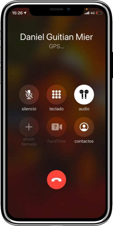 llamada iphone al localizador GT02
